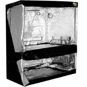 CHAMBRE DE CULTURE DUAL BlackBox Silver 150 x 80 x 200 cm