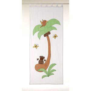 RIDEAU Rideau 'Noix de Coco' 105x250cm (Lot de 2 rideaux)