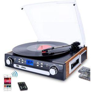 FEUTRINE DJ Tourne-Disque Bluetooth, Platine Vinyle 33/45/78 t