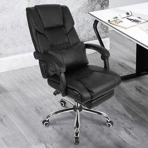 CHAISE DE BUREAU Fauteuil de bureau réglable noir chaise de jeu rot