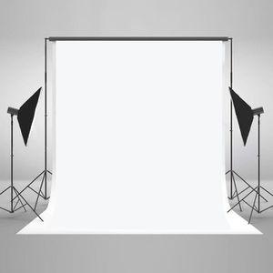 KateHome PHOTOSTUDIOS 2x2m Abstrait Fond Photo Noir Portrait Microfibre Toile de Fond Studios Accessoires