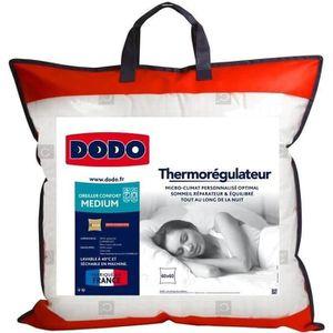 OREILLER DODO Oreiller thermorégulateur - 60 x 60 cm - Blan