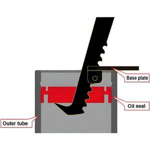 Joint spi de fourche et cache poussi/ère Tecnium moto Yamaha 900 TDM FSD-046R Neuf