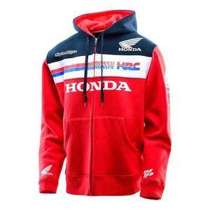 SWEATSHIRT Sweat à capuche Zippé Troy Lee Designs Team Honda