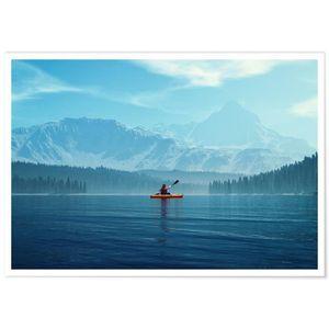 AFFICHE - POSTER Panorama® Poster Tranquillité 100 x 70 cm - Imprim