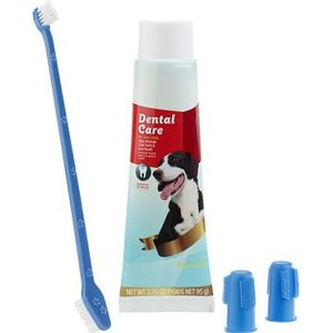 KIT DE SOIN - HYGIÈNE Kit d'hygiène dentaire canine : brosses et dentifr