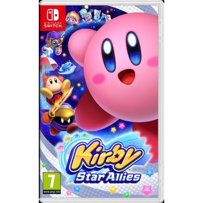 kirby star allies jeu switch achat vente jeu nintendo. Black Bedroom Furniture Sets. Home Design Ideas
