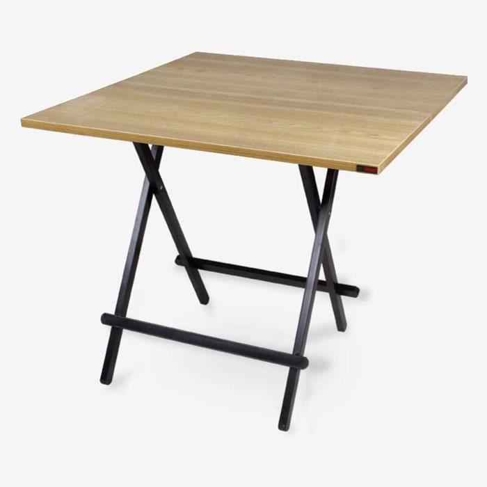 Tables basses de jardin Table d'appoint de Salon multifonctionnelle Moderne Table carrée Table Pliante d'extérieur Porta 149209