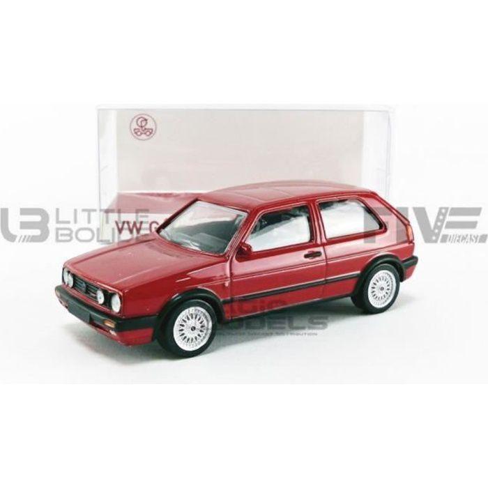 Voiture Miniature de Collection - NOREV 1/43 - VOLKSWAGEN Golf II GTI G60 - 1990 - Red - 840062