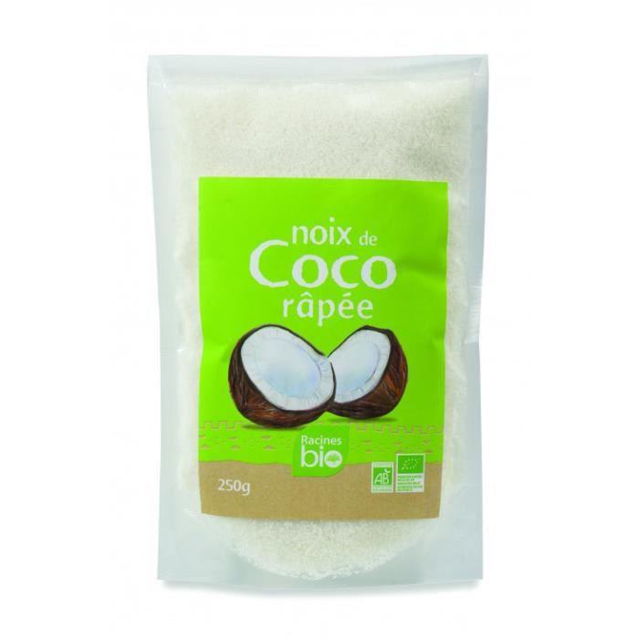 Racines Bio - Noix de coco bio râpée 250gr