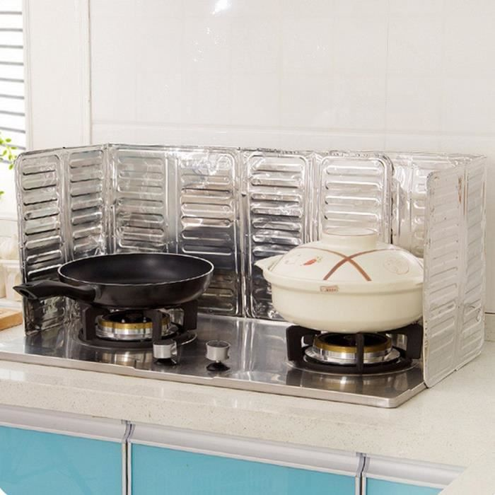 Cuisine cuisson friture huile Protection contre les éclaboussures cuisinière à gaz huile cuisine anti-four - Modèle: - WMCFGJA06373