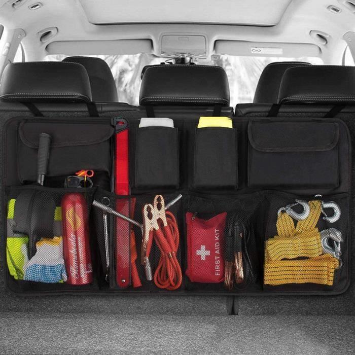 Organisateur de Coffre de Voiture, Boîte de rangement de voiture, Multipurpose Pliables Sac de Rangement Voiture