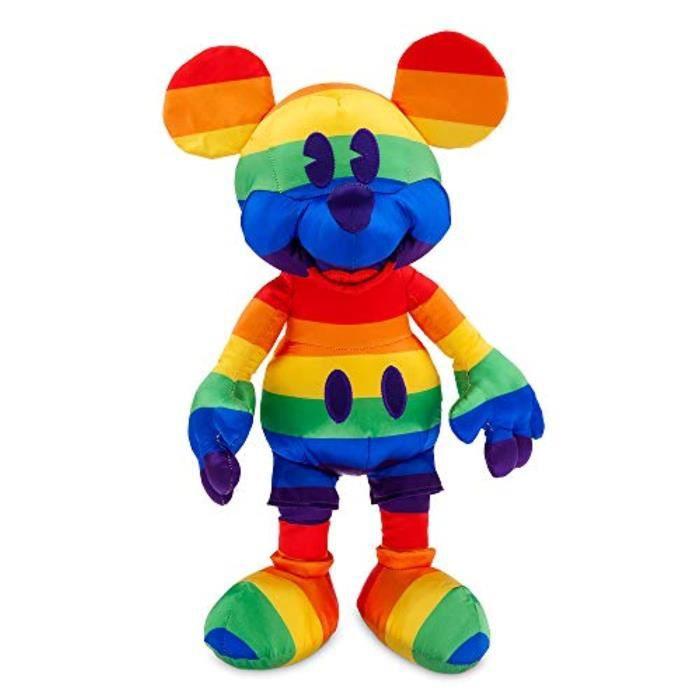 Peluche DISNEY JN6SS Mickey Mouse Rainbow Collection 22 - Moyen - 15 ''