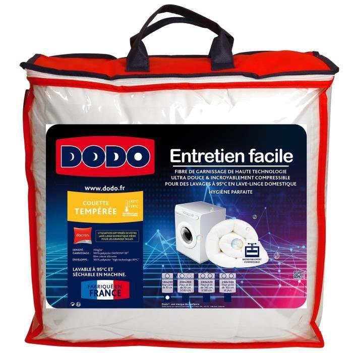 DODO Couette tempérée Entertien Facile - 200 x 200 cm