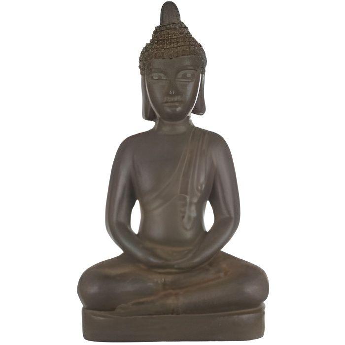 Statue bouddha effet pierre 66 cm 111603