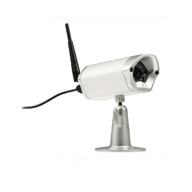 KONIG Caméra IP HD Extérieure - 720P - Métal