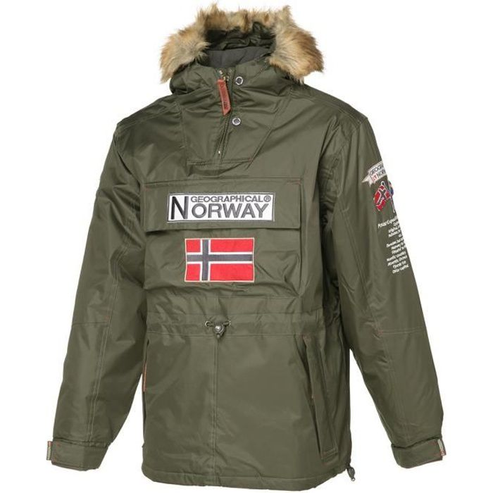 GEOGRAPHICAL NORWAY Parka Barman 068 - Homme - Kaki
