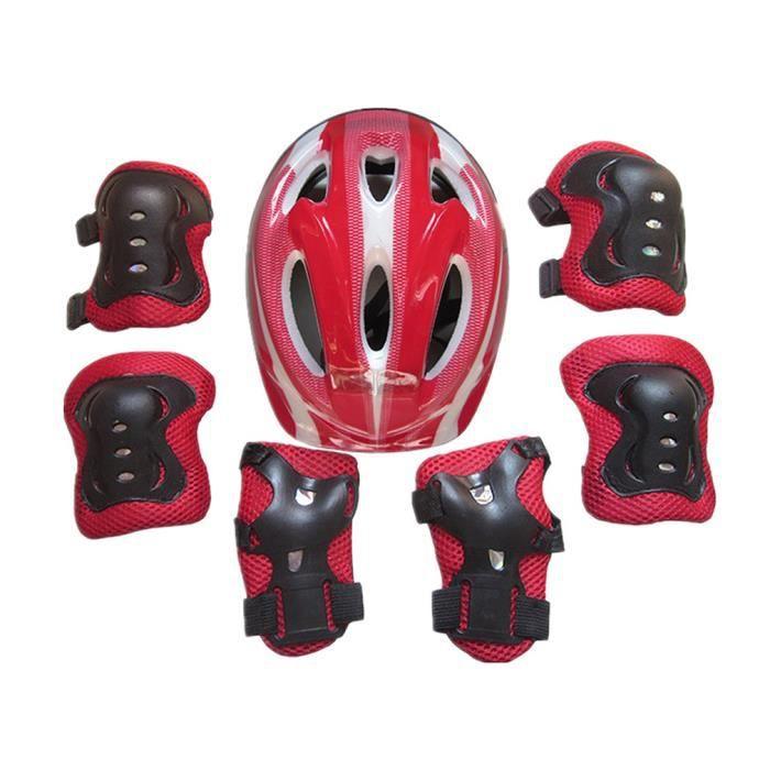 PROTEGE-CHEVILLES - CHEVILLERE,Garçons filles enfants casque de sécurité et genou et coudière ensemble pour cyclisme Skate - Type 1