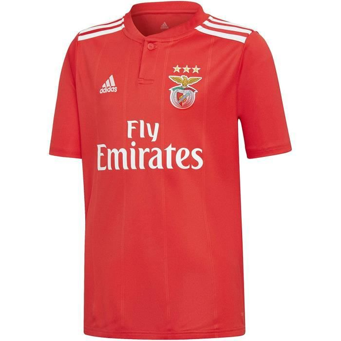 Maillot football Enfant Benfica Domicile Adidas Neuf Rouge 2019