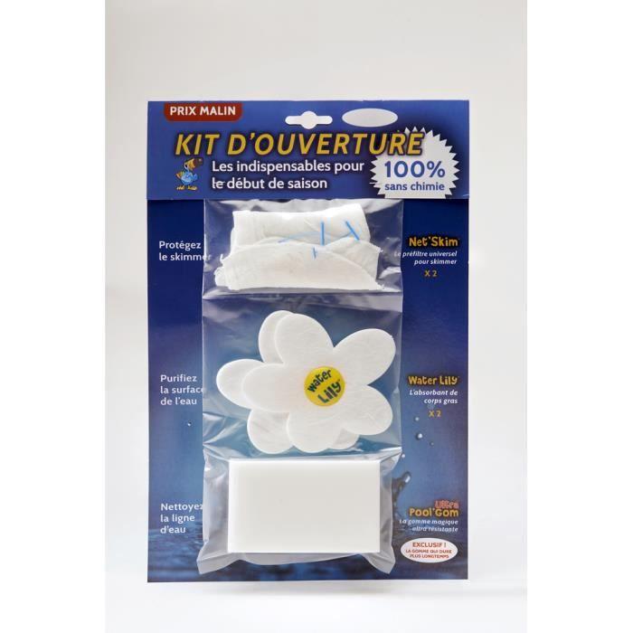 Kit d'entretien de nettoyage pour piscine