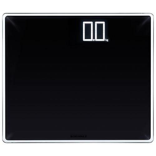 SOEHNLE Pèse-personne Electronique - 180 kg/100g - Noir Chiffres Blancs