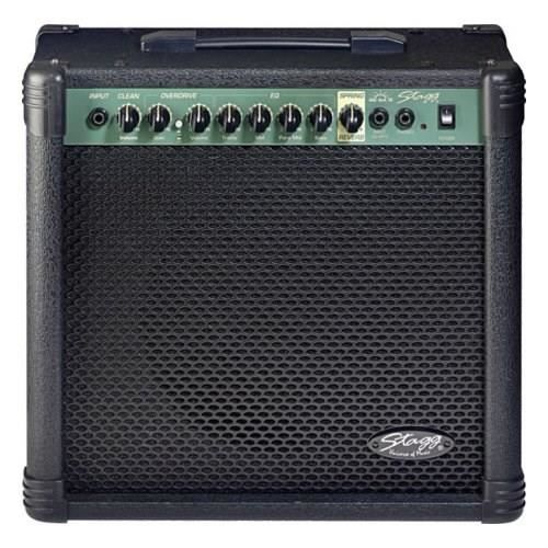 STAGG Ampli Guitare 40 W RMS 2 Canaux Réverbe
