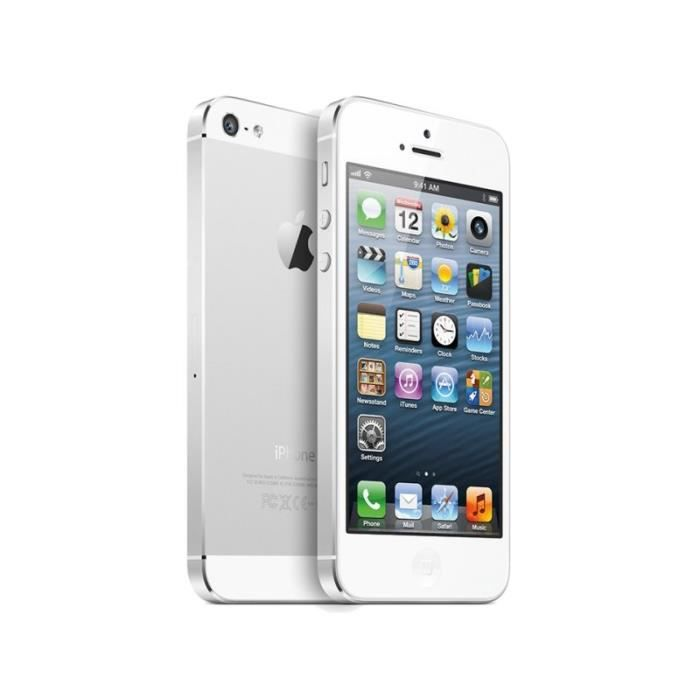 apple iphone 5s 16gb reconditionn argent achat. Black Bedroom Furniture Sets. Home Design Ideas