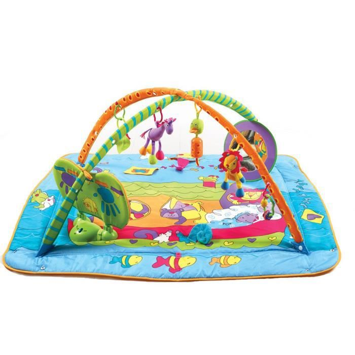 Tiny love tapis d 39 veil gymini kick play achat vente coussin cdiscount - Tapis d eveil kick and play ...