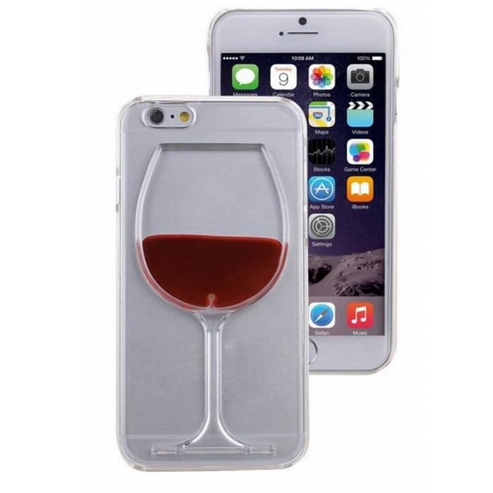 coque iphone 6 plus vin