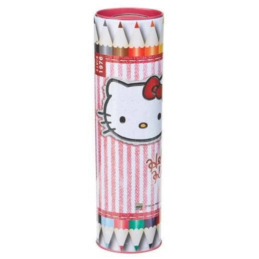 Hello kitty boite coloriage tire lire 12 crayons achat vente crayon de couleur hello kitty - Hello kitty couleur ...