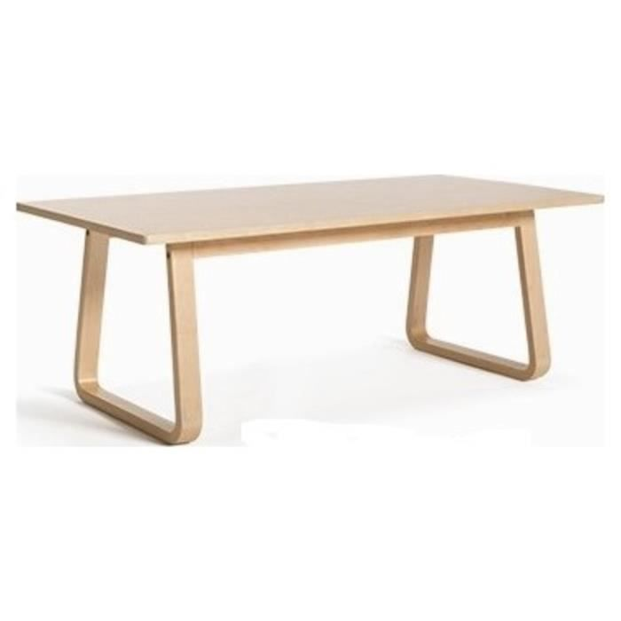 Table Basse Design Scandinave Halmstad 120cm Achat: table triangulaire scandinave
