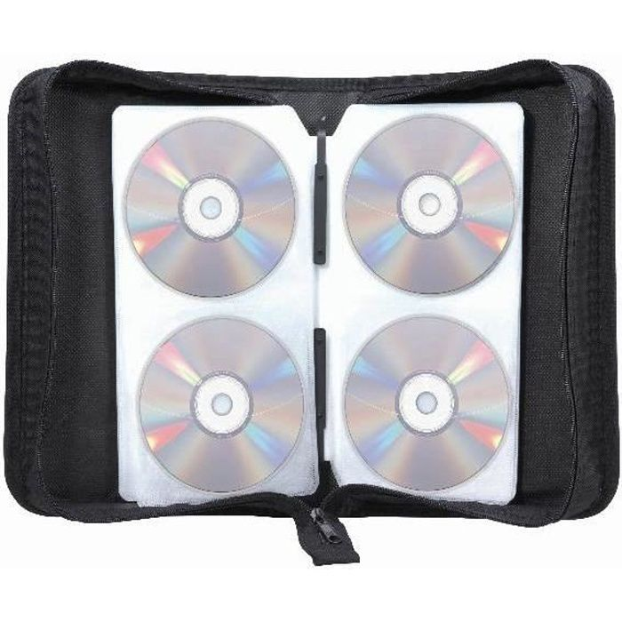 Pochette cd transport zipp e 128 cd achat vente range - Pochette range cd originale ...