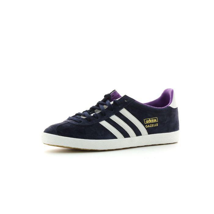 Chaussures Mode Adidas Gazelle OG Bleu Marine - Achat / Vente ...