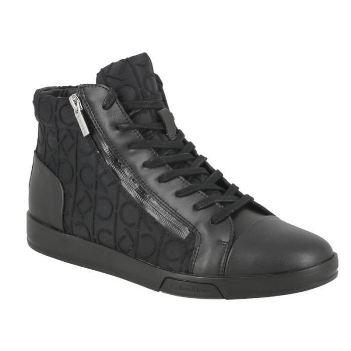Noir – Converse Pro Baskets Mi Hautes En Cuir Noir 157717C Homme Noir