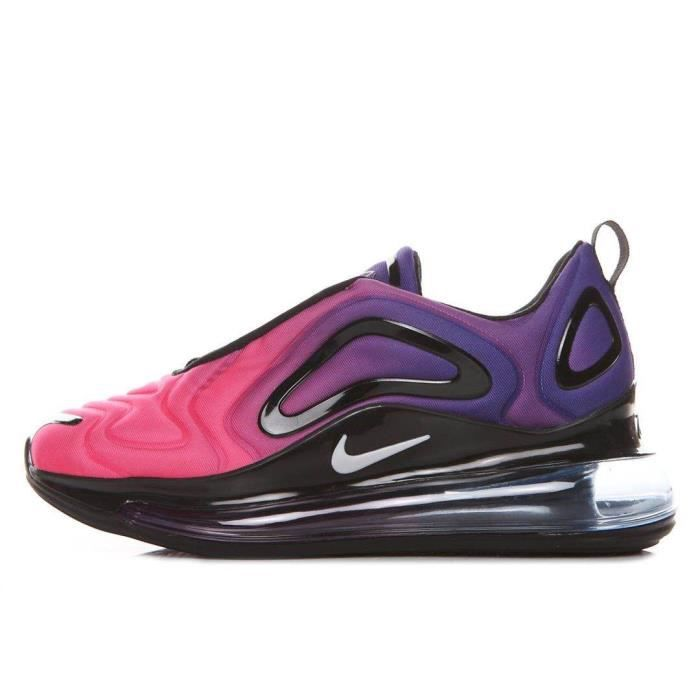 Baskets Nike Air Max 270 Rose Et Bleue Femme from Chausport on 21 Buttons