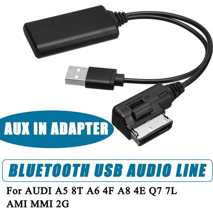XCSOURCE AUX Audio Cable Adapter for VW AMI MMI Wireless Bluetooth Music Interface MA1990