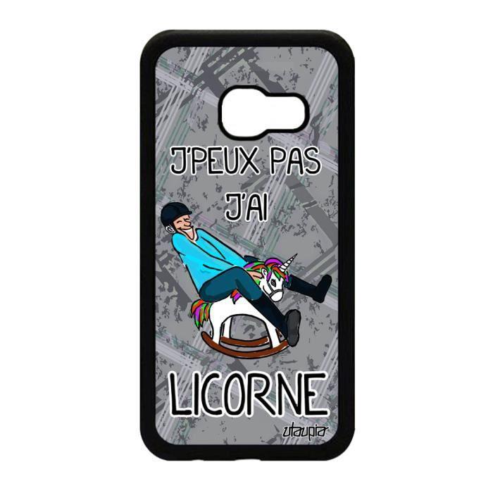 Coque samsung galaxy a3 2017 silicone licorne