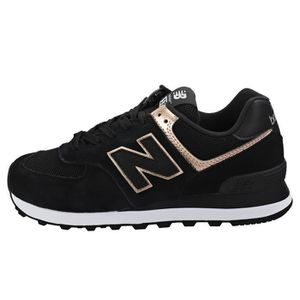 premium selection 7594d 7bb82 ... BASKET Baskets - New Balance - Wl574 - Femme - Noir ...