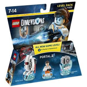 FIGURINE DE JEU Figurines LEGO Dimensions - Chell - Portal 2