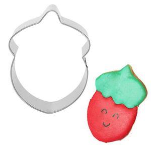 Cookie cutter.home cuisson fruits prune forme biscuit en métal Kitchencraft fraise