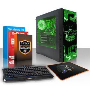 UNITÉ CENTRALE  Fierce EXILE PC Gamer de Bureau - AMD Ryzen 3 2200
