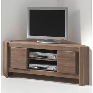 meuble tv d 39 angle acacia massi achat vente meuble tv meuble tv d 39 angle acacia massi cdiscount. Black Bedroom Furniture Sets. Home Design Ideas