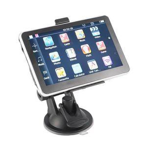 GPS AUTO 5 pouces voiture de navigation GPS avec caméra rév