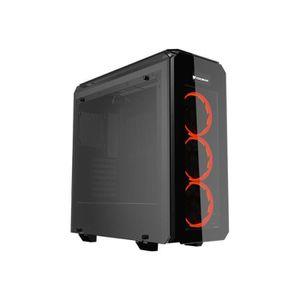 BOITIER PC  Cougar Tour midi ATX pas d'alimentation noir USB-A