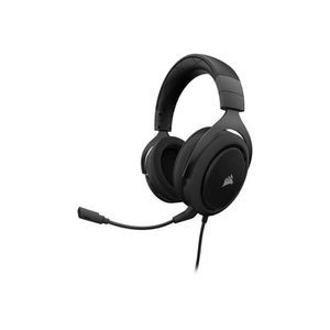 CASQUE AVEC MICROPHONE CORSAIR Casque Gamer Filaire HS60 Surround - Noir