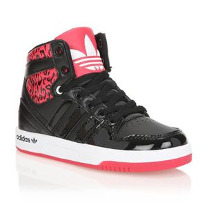 1fe9843989667 ADIDAS ORIGINALS Baskets COURT ATTITUDE C Enfant Noir Rose - Achat ...