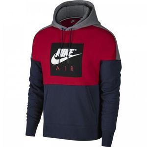 Nike Sweat à capuche Nike Sportswear 886046 Rouge