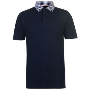 POLO Kangol Homme Polo T-Shirt Manches Courtes