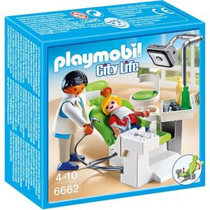 UNIVERS MINIATURE PLAYMOBIL 6662 - City Life - Cabinet de Dentiste