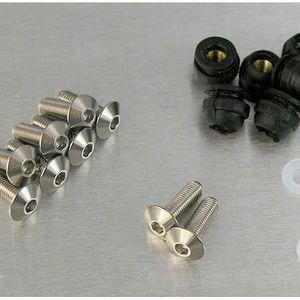 AUPROTEC Collier de Serrage /à vis BREEZE en acier inoxydable V2A W4 DIN 3017 choix 16-25 mm 10 pi/èces
